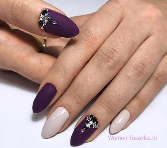 Матовый ультрафиолетовый дизайн