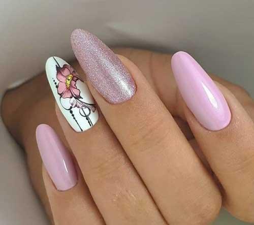 Слайдер-дизайн наклейками для ногтей