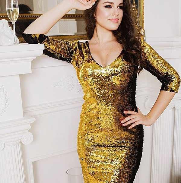 Золотое платье от Анфисы Чеховой