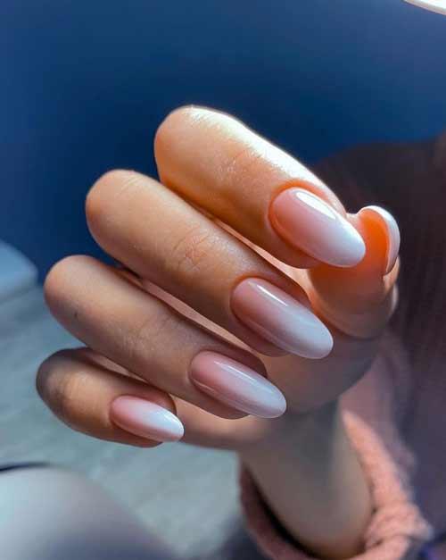 Нюд ногти