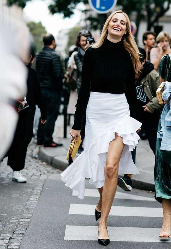Оборки Best Street Style Paris