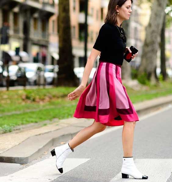 Модные юбки 2018 фото