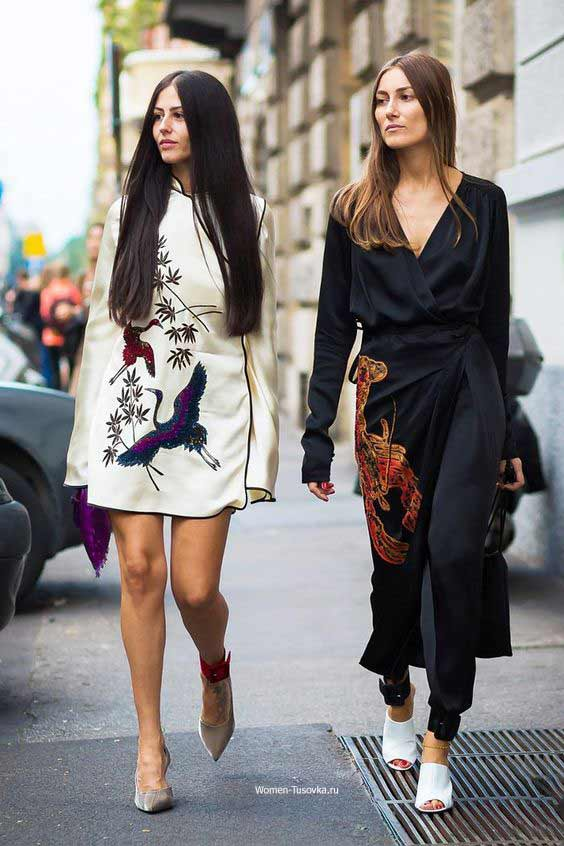 Платье-халат, универсальная модель для любой фигуры и повода