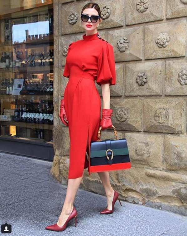 Красное платье Жаклин