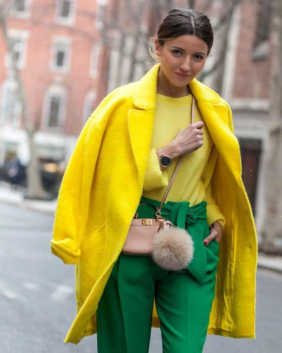 Желтый + зеленый