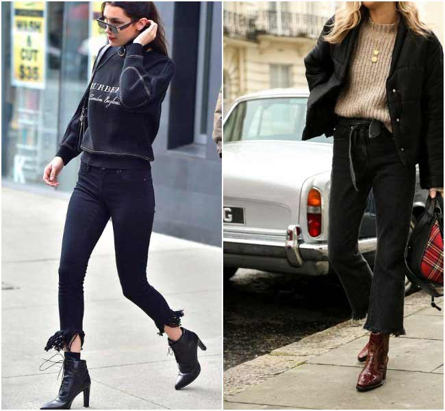 Модные джинсы 2018  с бахромой