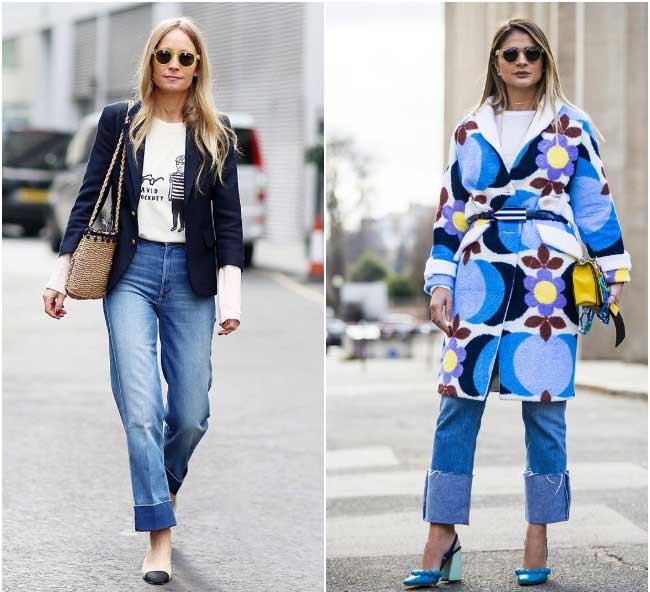 Отвороты и манжеты на джинсах 2018