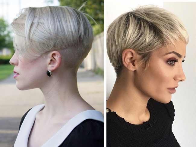 Пикси и Гарсон стрижки для колотких волос