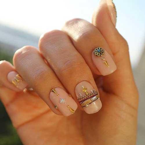 Маникюр браслет на ногтях