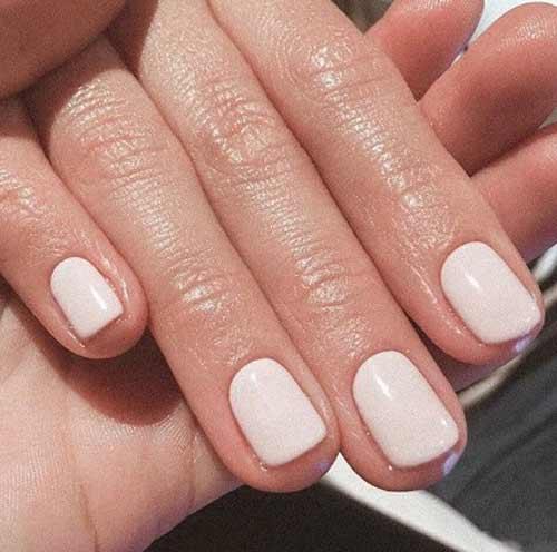 Нюд короткие ногти
