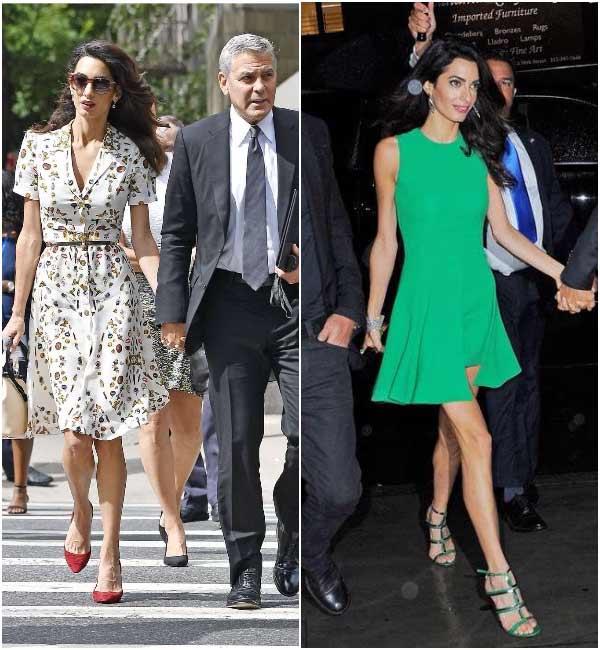 Стиль Амаль Клуни- деловые образы