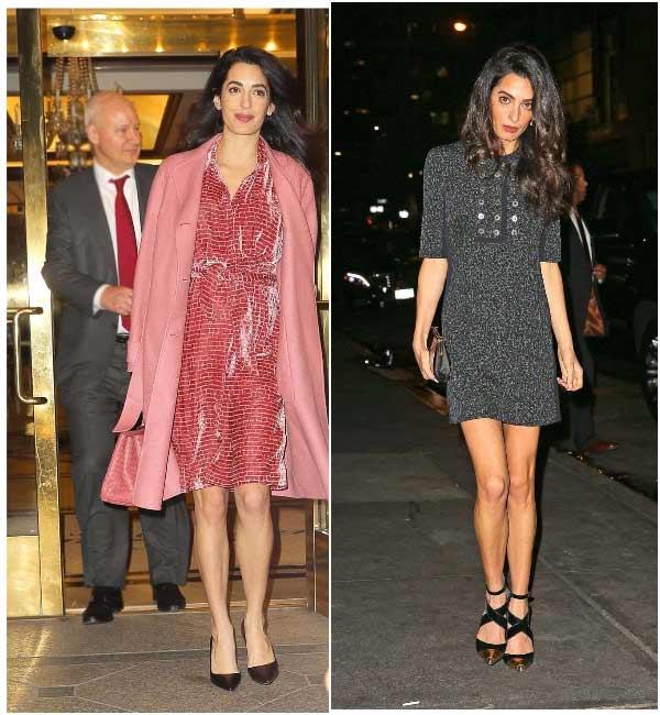Стильные платья Амаль Клуни