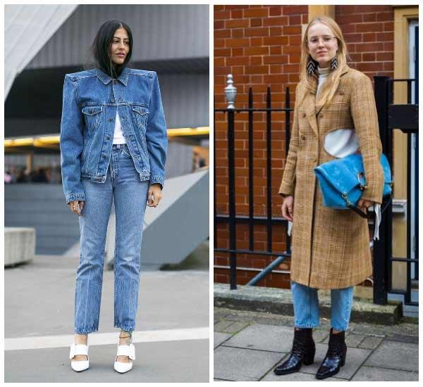 Прямые модные джинсы 2018