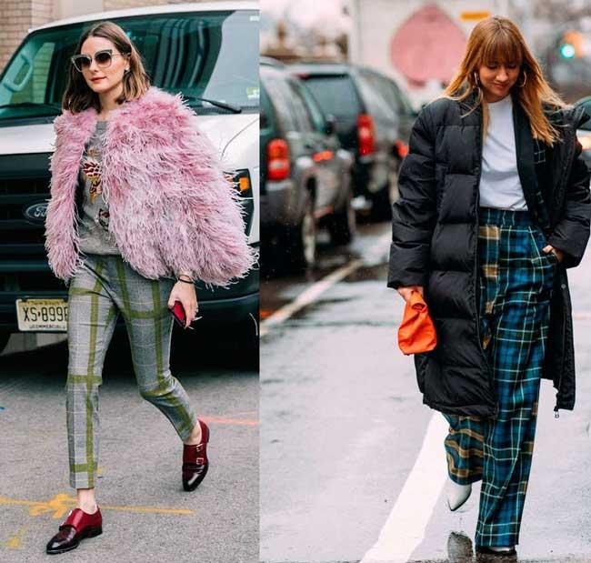 Самые модные способы: с чем носить брюки в клетку, превью