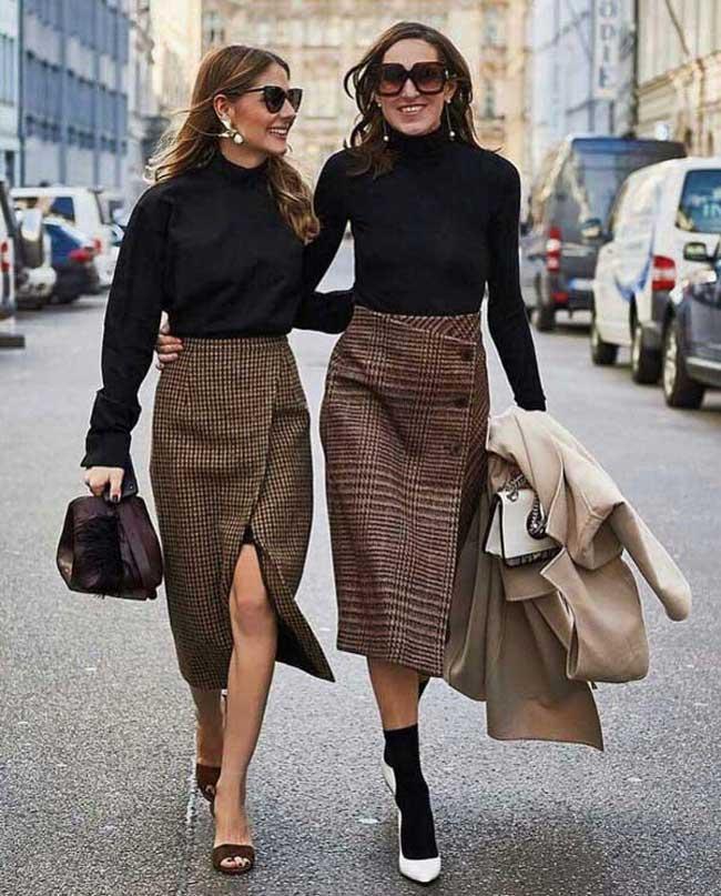 Асимметричная юбка: самые стильные и модные варианты