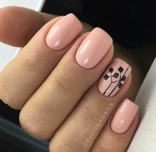 Рисунки для коротких ногтей