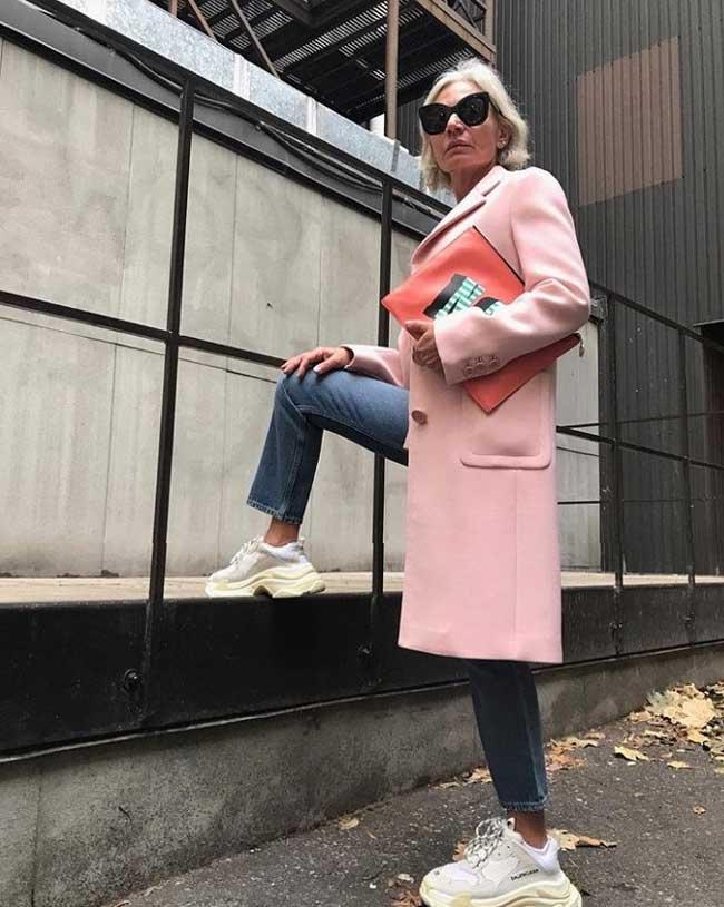 Как одеваться женщине в возрасте: идеи от 52-летнего блогера Инстаграм, фото4
