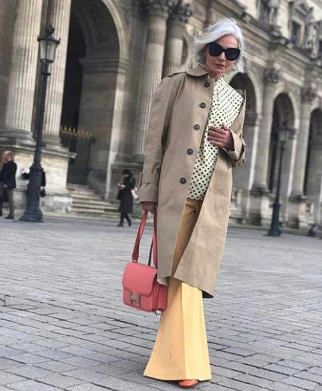 Как одеваться женщине в возрасте: идеи от 52-летнего блогера Инстаграм, фото 5