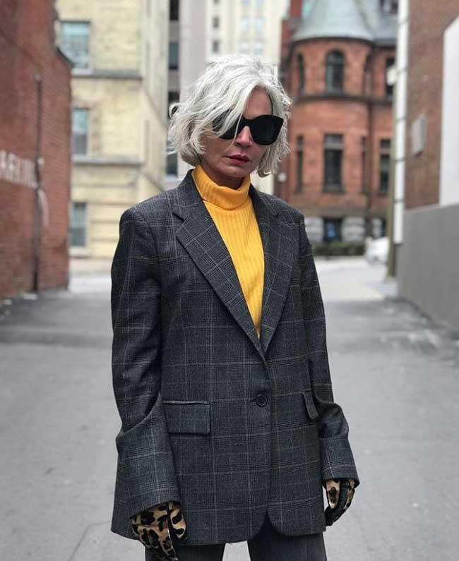 Долой стереотипы как одеваться женщине за 50