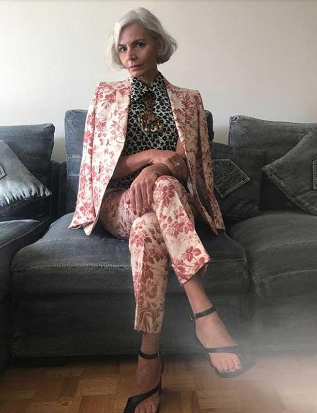 Как одеваться женщине в возрасте: идеи от 52-летнего блогера Инстаграм, фото
