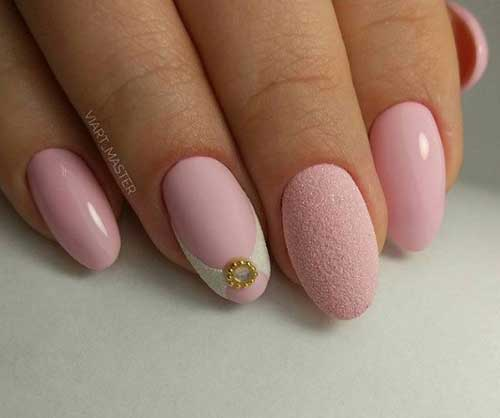 Красивый розовый матовый