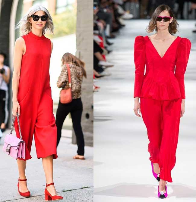Модная цветовая палитра 2018