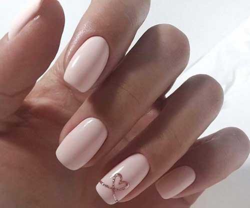 Нежно-розовый минимализм