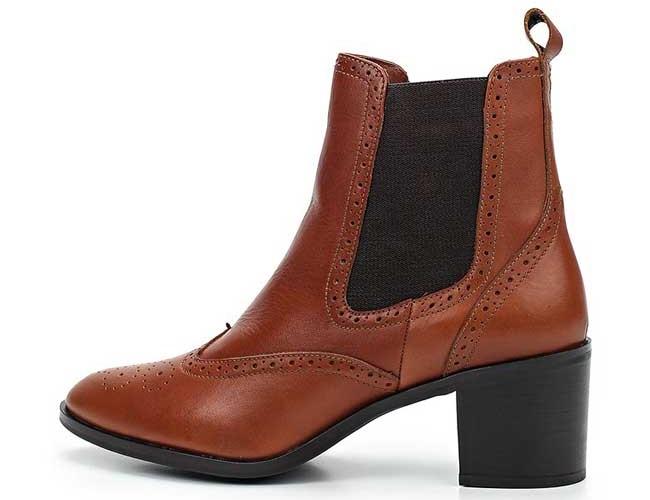 Модные коричневые челси