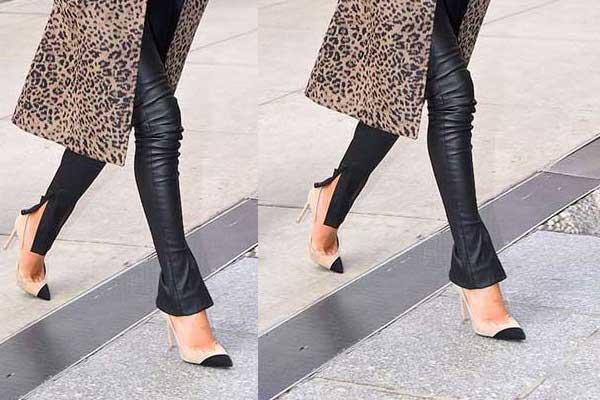 Стильные брюки с разрезами: отличная замена узким джинсам, фото с чем носить