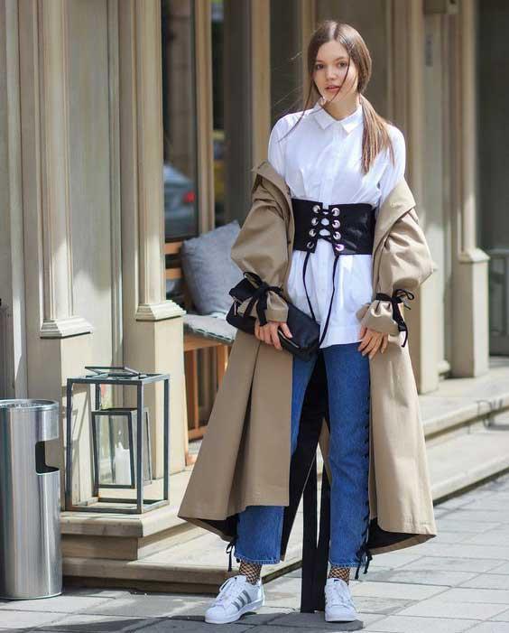 Всегда в моде и стильная: как носить бежевый и выглядеть дорого тренч