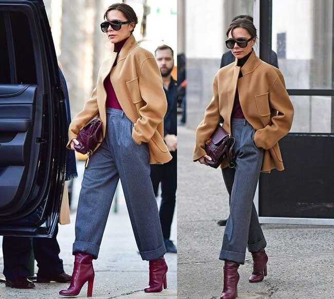 Всегда в моде и стильная: как носить бежевый и выглядеть дорого фото пальто