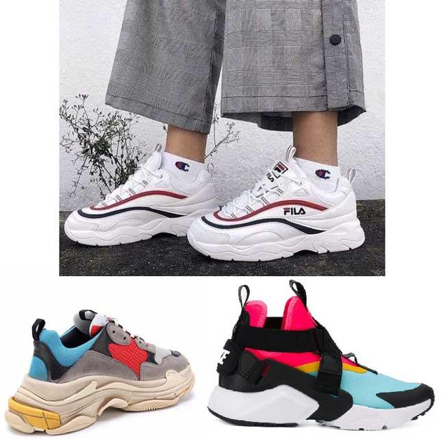 Модные кроссовки 2018