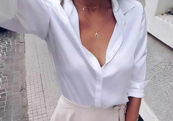 5 стильных рубашек для женщин