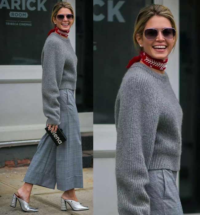 Модные женские свитеры на весну 2018 фото