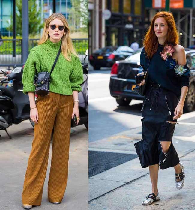 Модные женские объемные свитеры