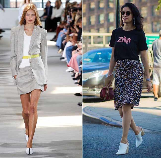 Модная и универсальная юбка весна-лето