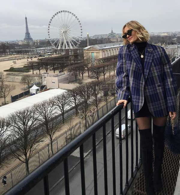 В стиле настоящих парижанок: 7 нужных базовых вещей - пиджак в мужском стиле