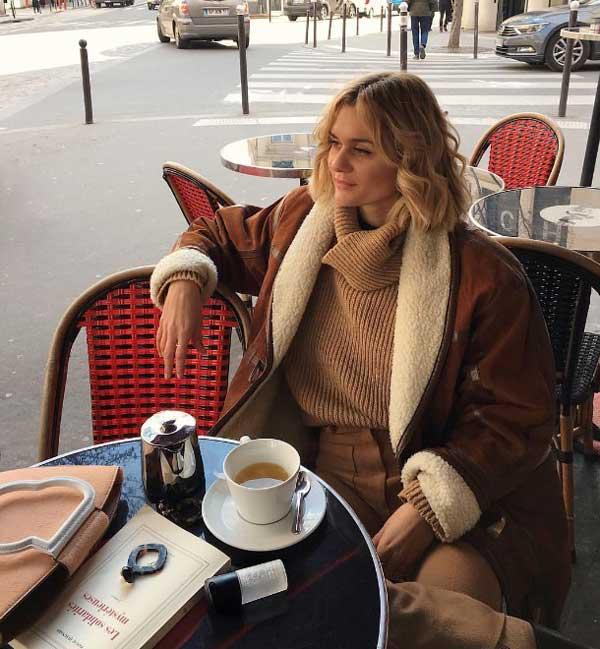 В стиле настоящих парижанок: 7 нужных базовых вещей - объемный свитер