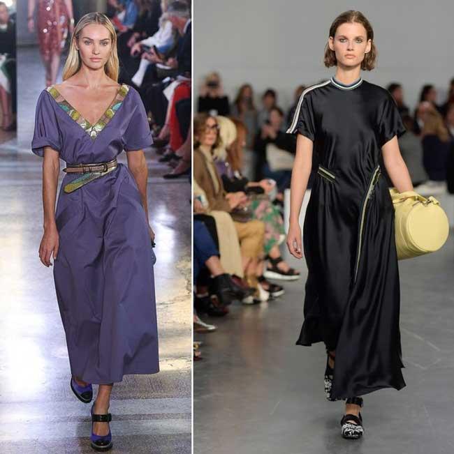 Модные платья на весну 2018