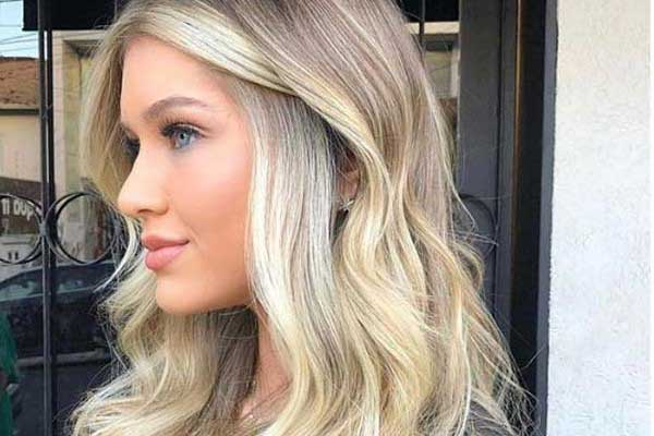 Как красиво покраситься блондинке