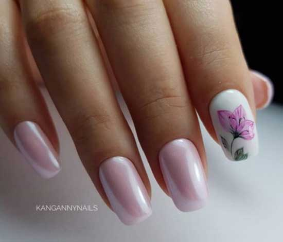 Втирка + цветок