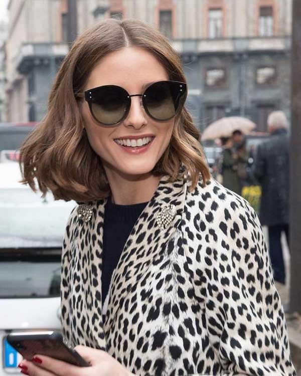 Оливия Палермо в модных солнцезащитных очках 2018
