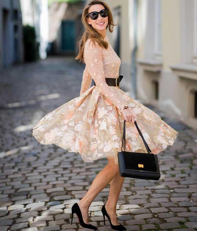 Женственный стиль - платье