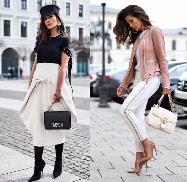 Сочетание сумки и обуви - как правильно