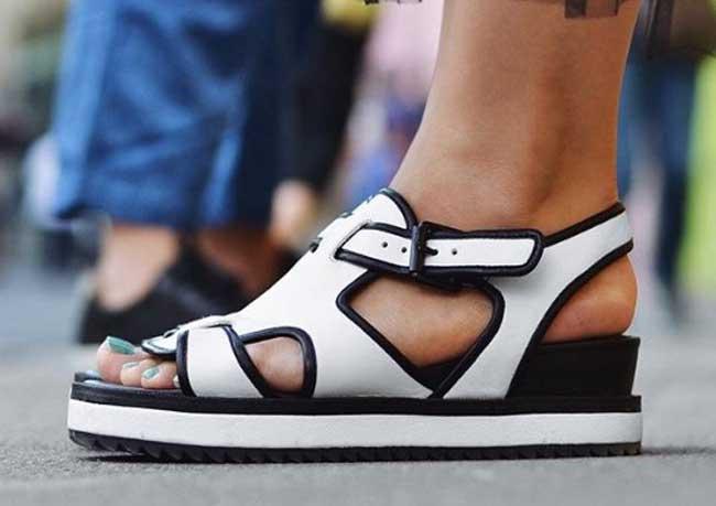 Стильные сандалии на лето