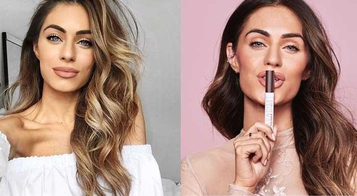 До и после окрашивания в бронд