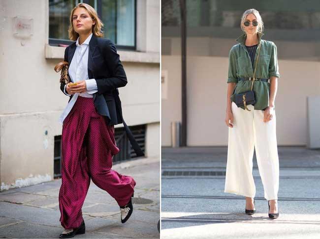 Широкие брюки-палаццо, которые вам не захочется снимать все лето!