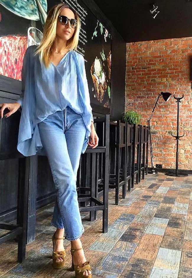 Настоящая классика - прямые джинсы
