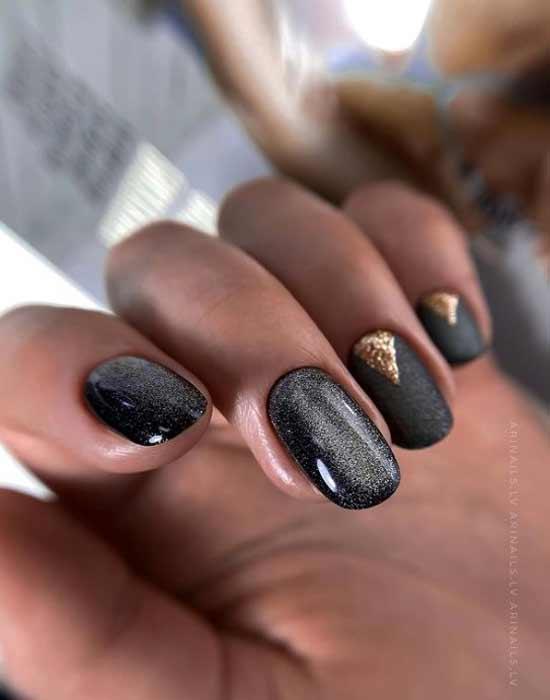Классные ногти матовые