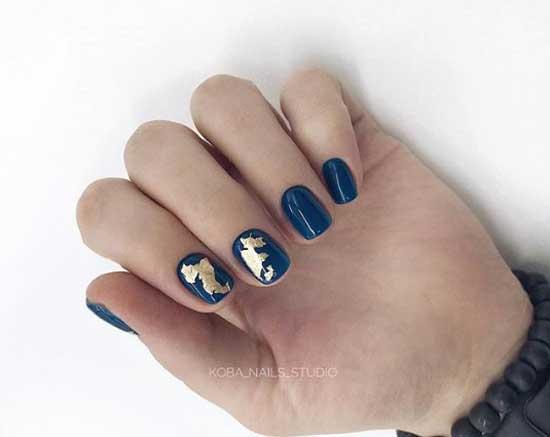 Квадратные ногти дизайн 2018